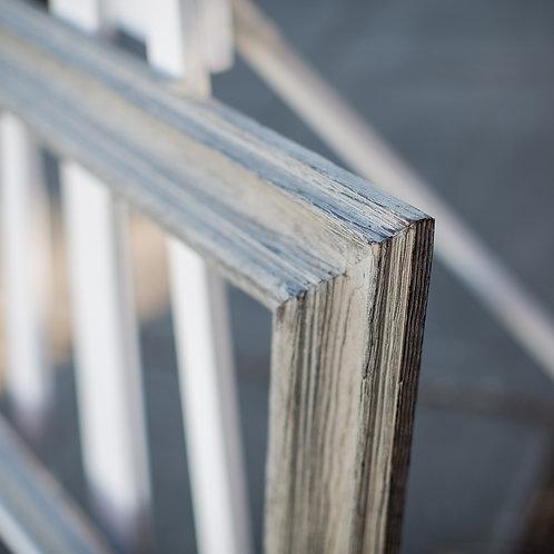 14x26 rustic grey frame