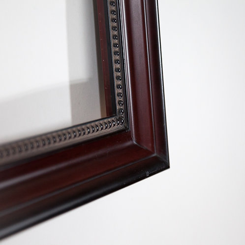 119x30Cherry& Black Frame