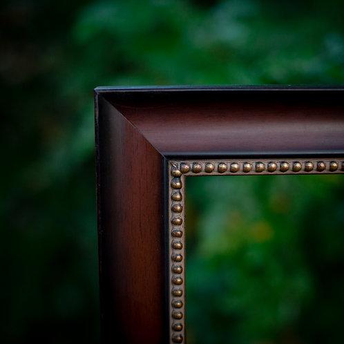 18X30 cherry frame