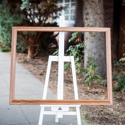 32x42 oak frame