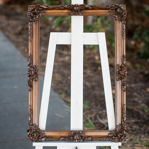 16x24 ornate wood frame