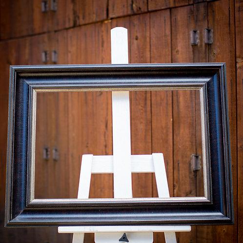 16x24 Dark brown frame