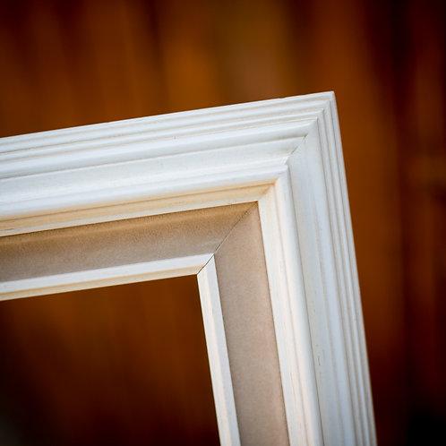 16x24 cream and beige frame