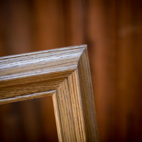 16x24 oak frame