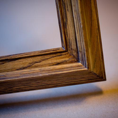 24x30 oak frame