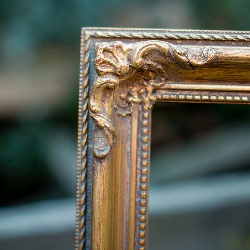 26x32 ornate gold frame