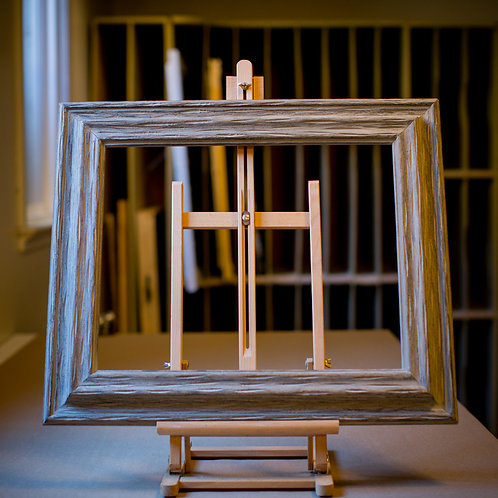 16x20 rustic grey frame