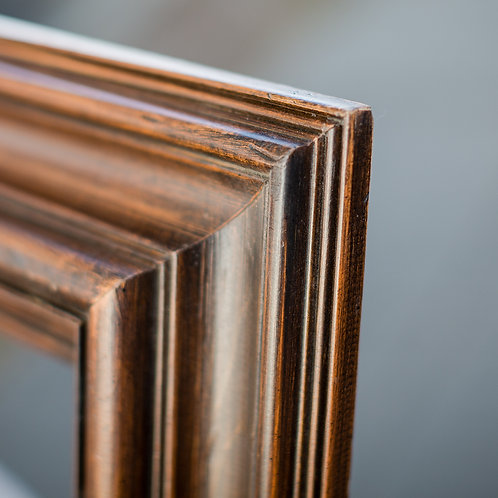 20x24 brown frame