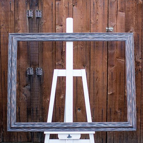 30x40 carved wood frame