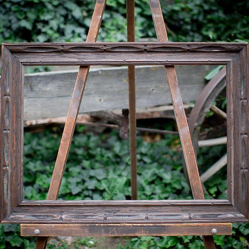 20x30 rustic wood frame