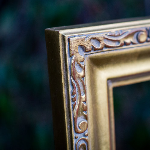 24x30 gold frame (with gold leafing)