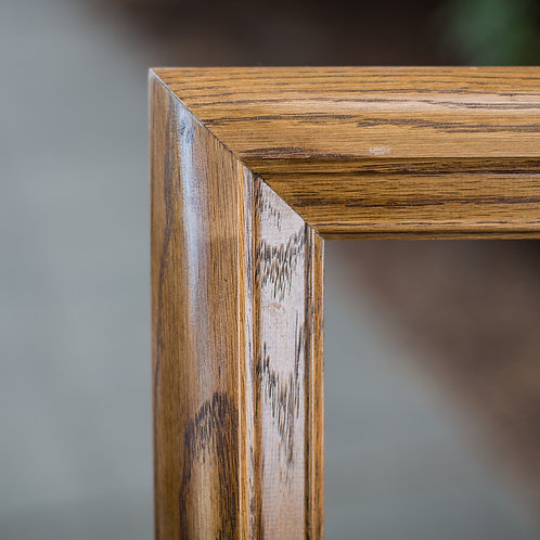 30x40 oak frame