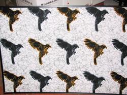 screen printing - birdies
