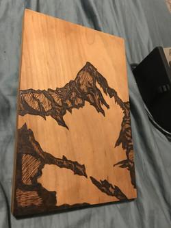 Squaw Peak Mountain Woodburning