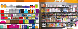 RoadRunner Sports Nutrition wall