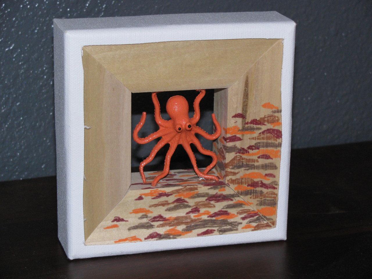 octopus frame miniature