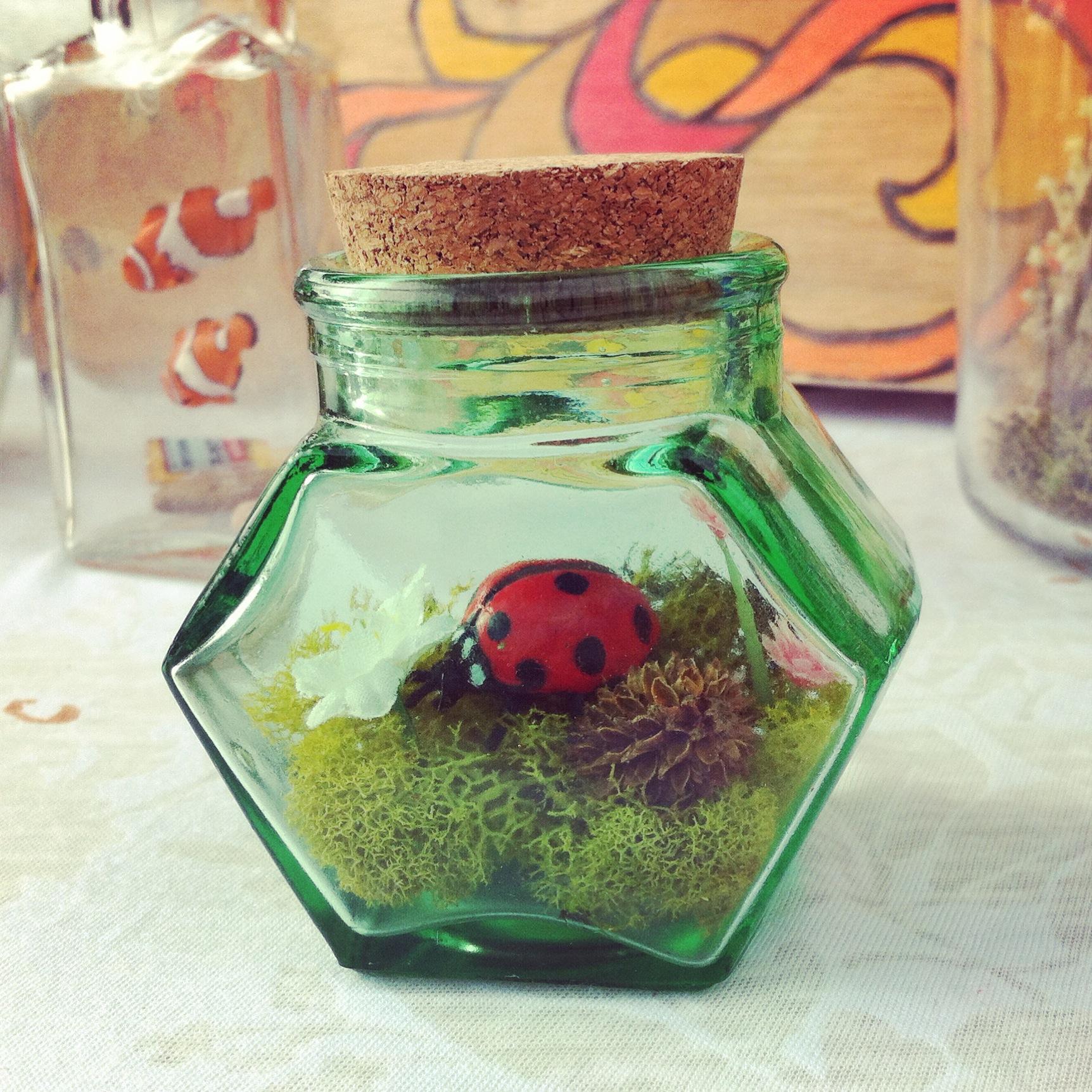 ladybug light miniature