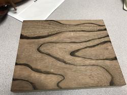 zebra woodburning