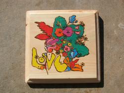 love peter max wood burning