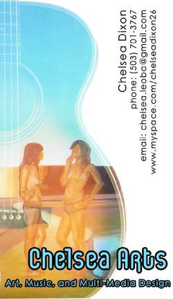 Chelsea Dixon - business card