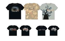 Bondi - staff and promotional shirts