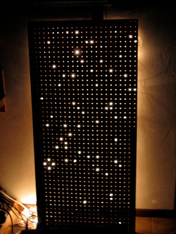 constellations wall panel