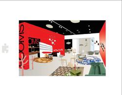 Rooms - 3D showroom layout