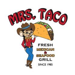 Mrs Taco Logo