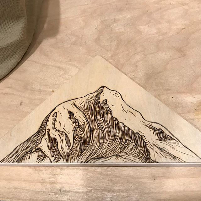 Mt. Adams Woodburning