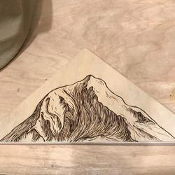 Mt. Adams Woodburning