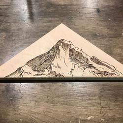 Mt. Hood Woodburning