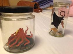 sea creatures miniatures