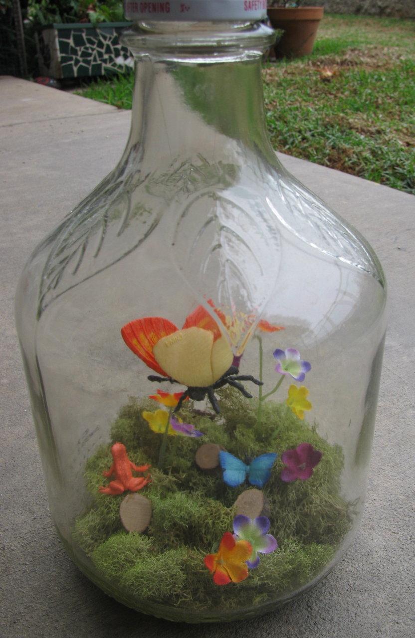 butterfly garden miniature