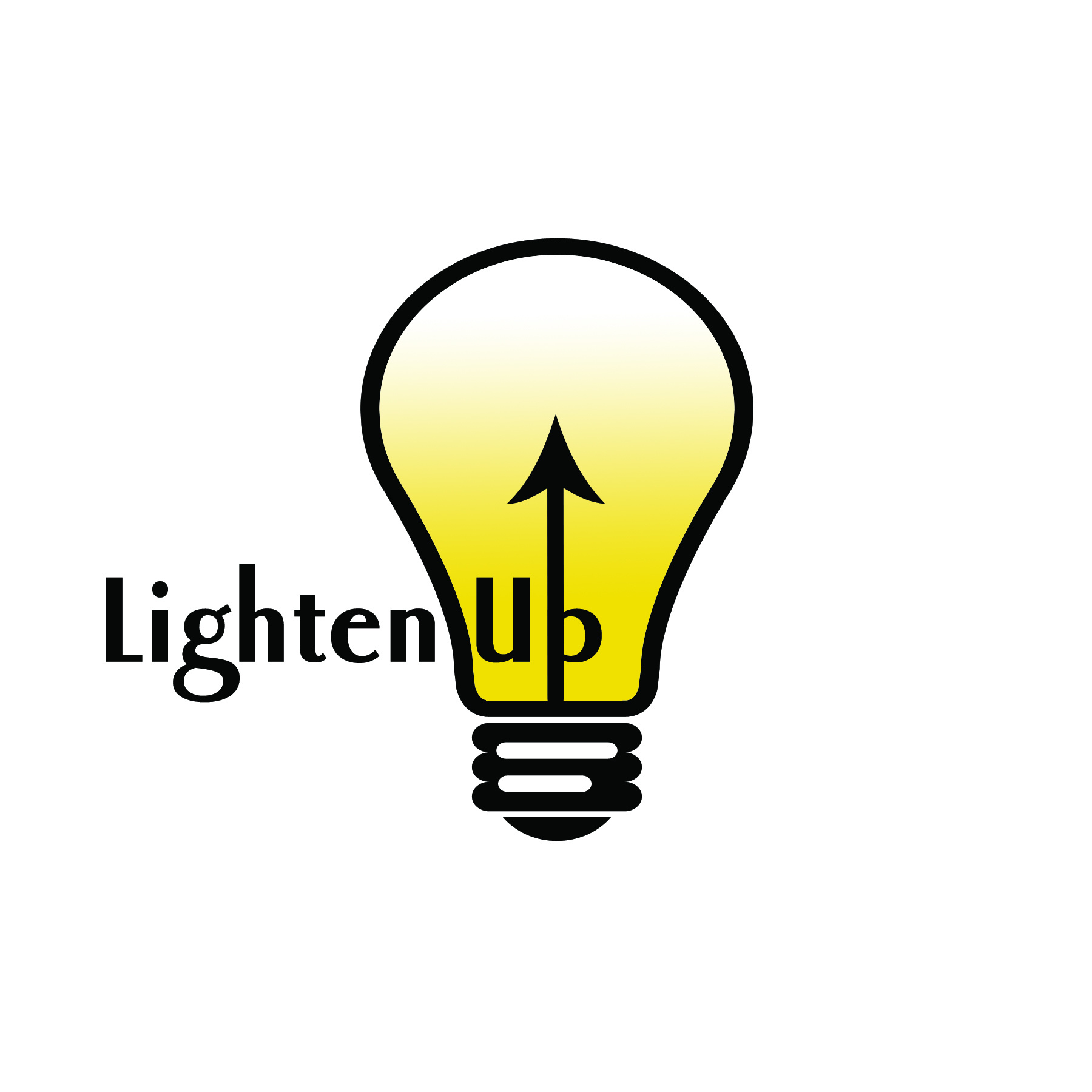 lighten up-lighting store logo