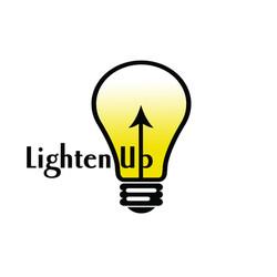 lighten up-lighting store logo