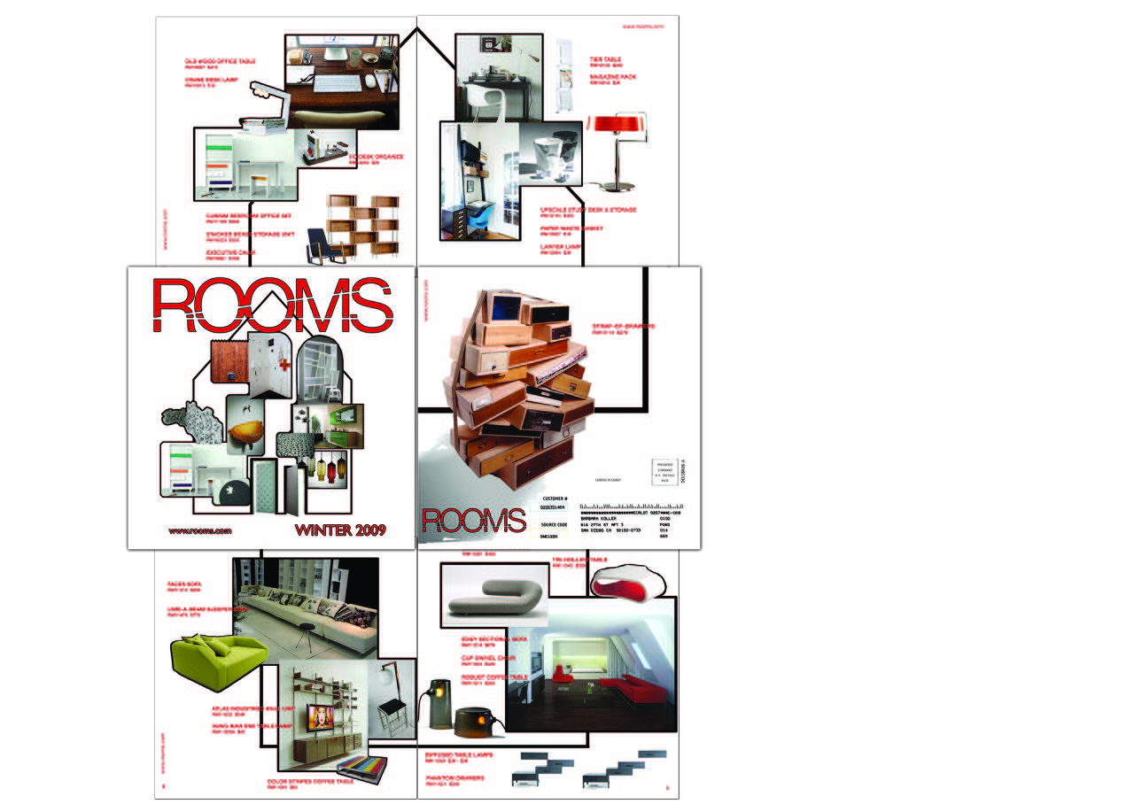 Rooms-lookbook catalog
