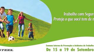 Pertencer na Semana Interna de Prevenção de Acidentes de Trabalho (SIPAT)