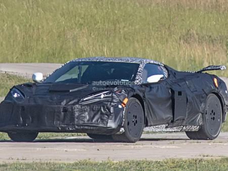 Widebody 2022 Chevrolet Corvette Z06 Spy Video Features Five Test Mules