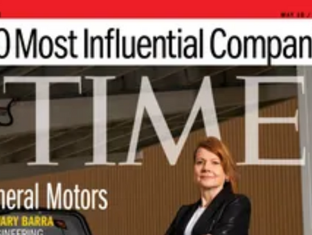 GM makes Time's 100 Most Influential Companies: Here's why