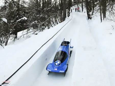 BOBSLED AND SKELETON WORLD CUP TOUR RESUMES ON ALL-NATURAL TRACK IN SWITZERLAND