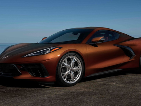 Paint Spill! See the Chevy C8 Corvette's New-for-2022 Gray, Orange, and Brown Options