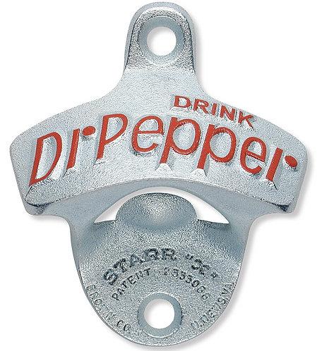 Dr Pepper Stationary Star Bottle Opener Wall Mount