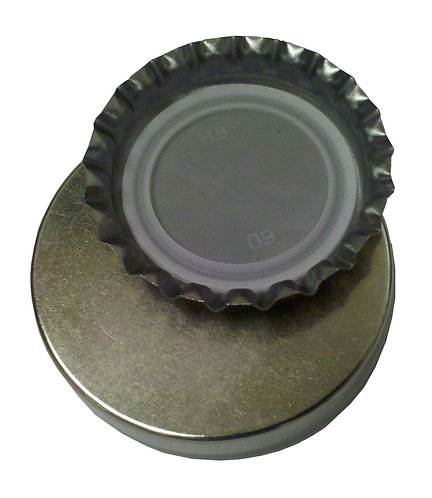 MAGNETIC CAP CATCHER for Stationary Bottle Openers