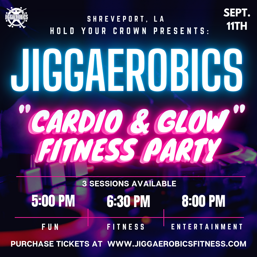 Hold Your Crown Cardio & Glow Party (3 SESSIONS)