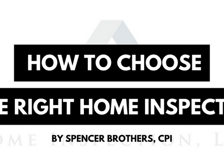How do you choose the RIGHT Home Inspector?
