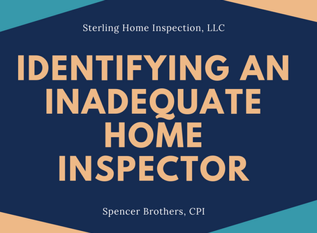 Identifying an Inadequate Home Inspector