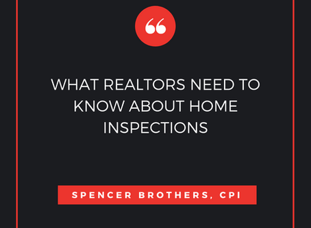 What Realtors NEED TO KNOW About Home Inspections