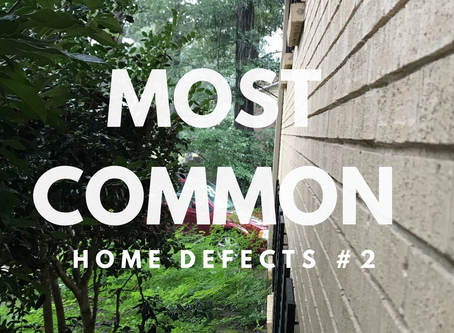 Most Common Home Defects - #2