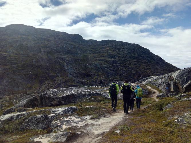 Senderismo en Groenlandia