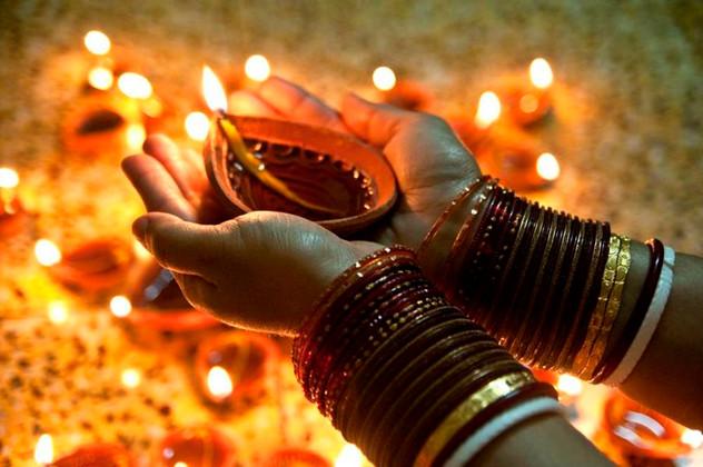 Festival de Diwali, India
